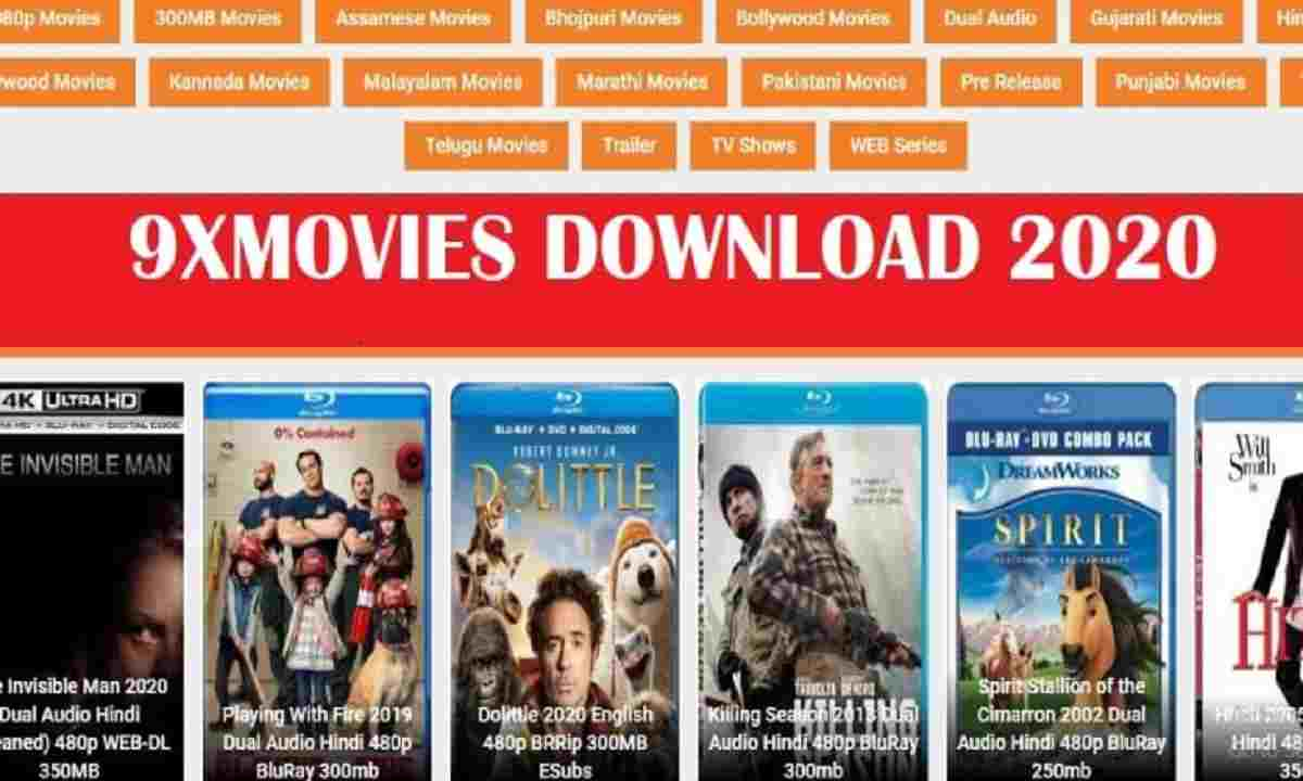 9xMovies 2020 Download Latest 300MB HD Bollywood, Hollywood Movies