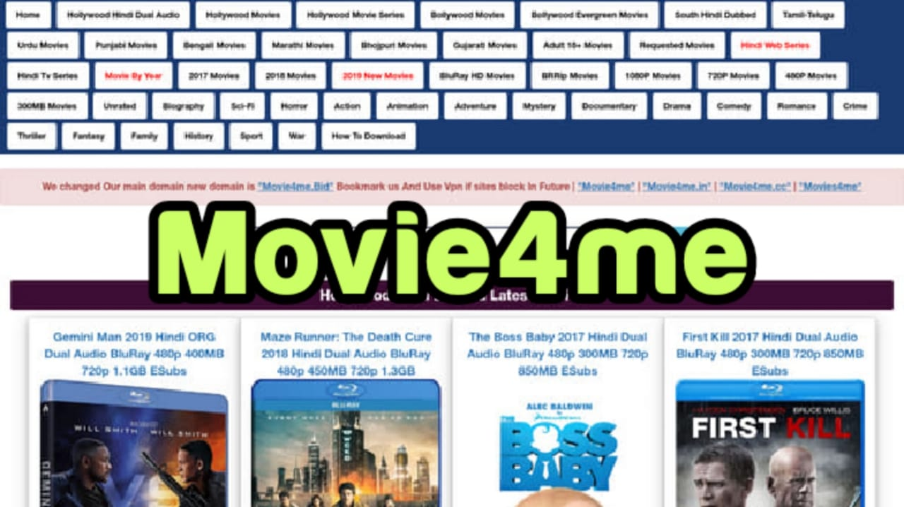 Movie4me 2021-Download HD 300MB Bollywood, Hollywood Movies Free