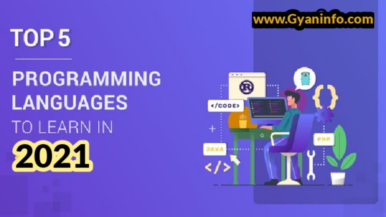 Top 5 Programming Languages You Should Learn In 2021