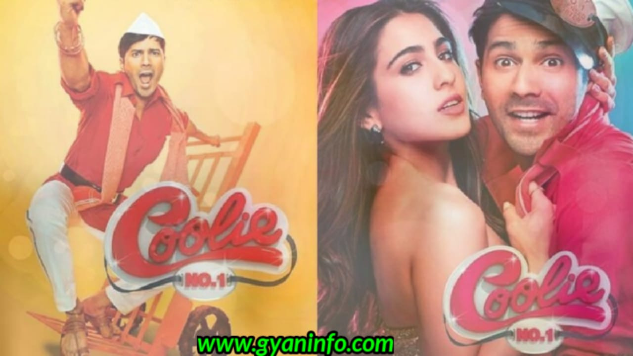 Coolie No. 1 Full Movie Download Leaked By Filmywap 480p 720p 1080p