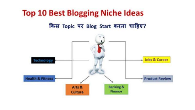 Top 10 Best Blogging Niche Ideas in 2021