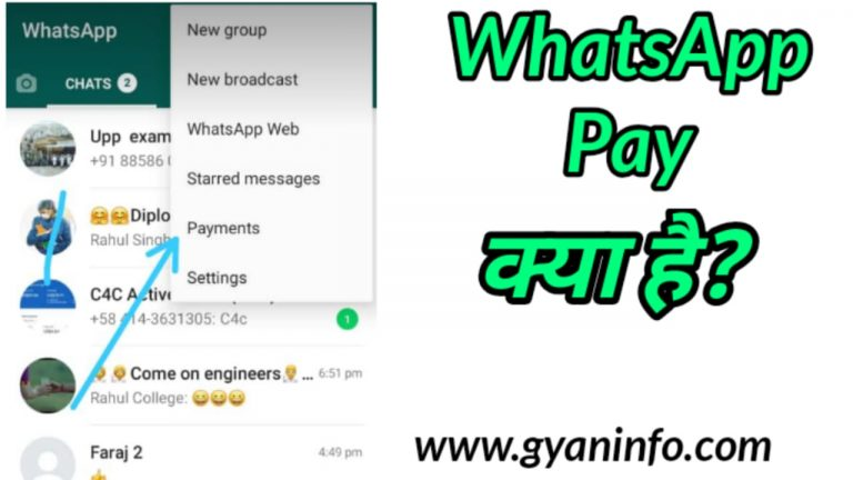 WhatsApp Pay क्या है What is WhatsApp Payment in Hindi