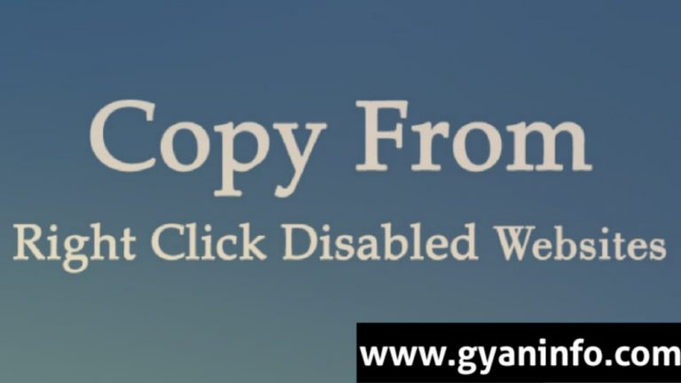 Top 5 Ways to Copy Content From Right Click Disabled Websites In 2021