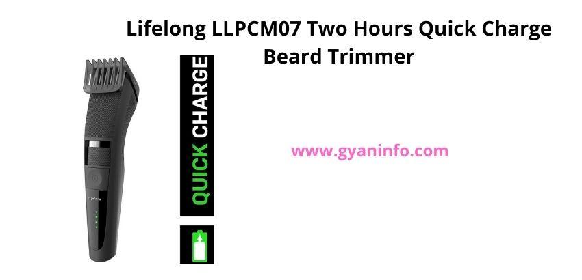 10 Best Beard Trimmers Under 1000 Rupees