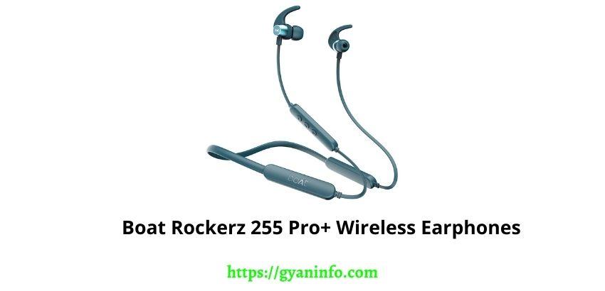 Boat Rockerz 255 Pro+ Wireless Earphones