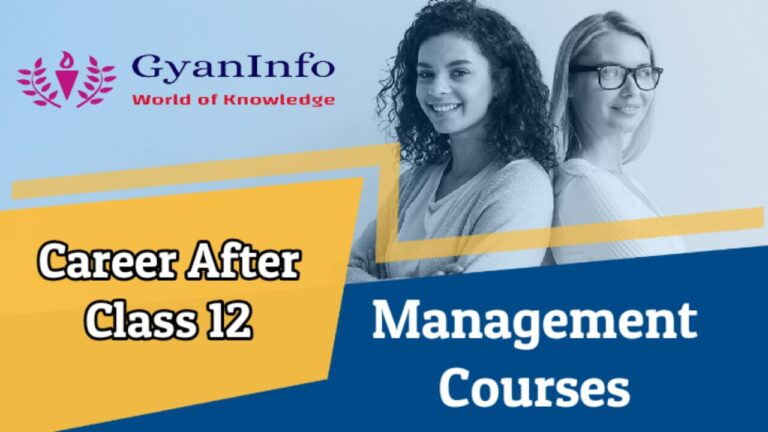 Career After Class 12 in Top Management Courses