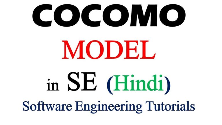 Types of COCOMO Model in Hindi