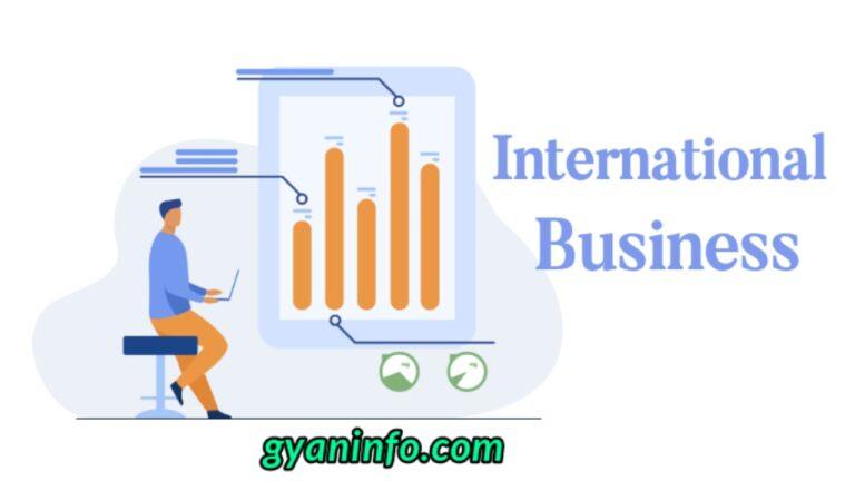 International Business in Hindi